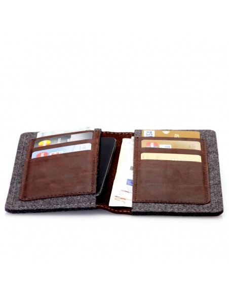 g.5 iPhone 5 Wallet Earth