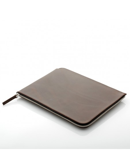 ZIP Sleeve iPad 2/3/4 Leder Earth