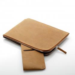 ZIP Sleeve iPad 2/3/4 Leder Vintage