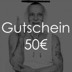 Geschenkgutschein - Wert 50 Euro