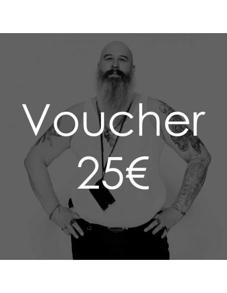 Geschenkgutschein - Wert 25 Euro