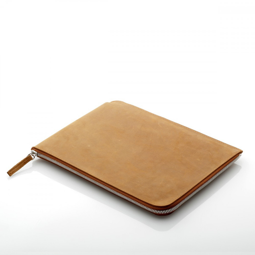 ZIP Sleeve iPad 2/3/4 Leder