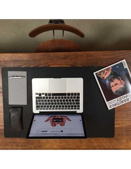 Schreibtischunterlage Leder