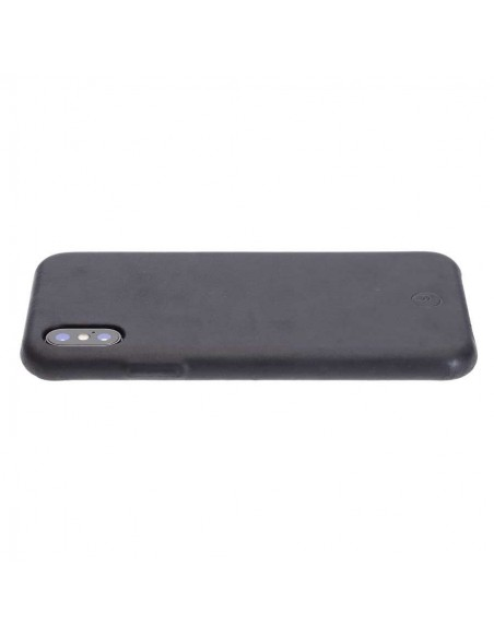 iPhone X Leder Bumper