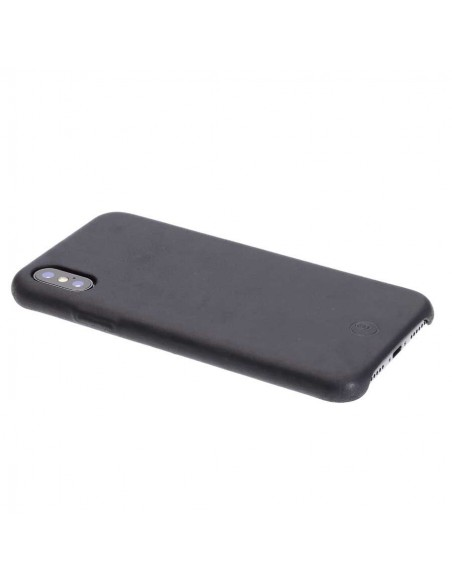 iPhone XS Leder Bumper
