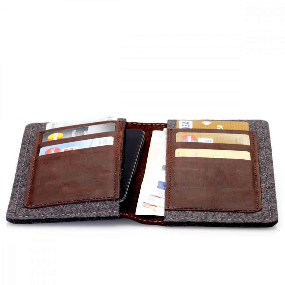 g.5 iPhone XS Wallet in earth