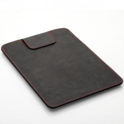 """MacBook Air 13"""" Sleeve in black, brown and dark brown leather"""