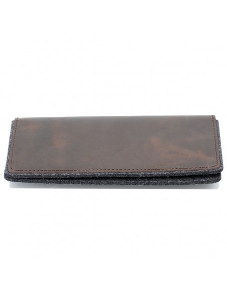 g.5 iPhone 8 Plus Wallet in black, grey, camel and dark brown leather