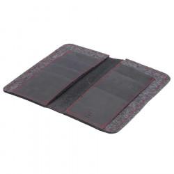 LIMITED EDITION - iPhone XI Wallet mit rothen Nähten