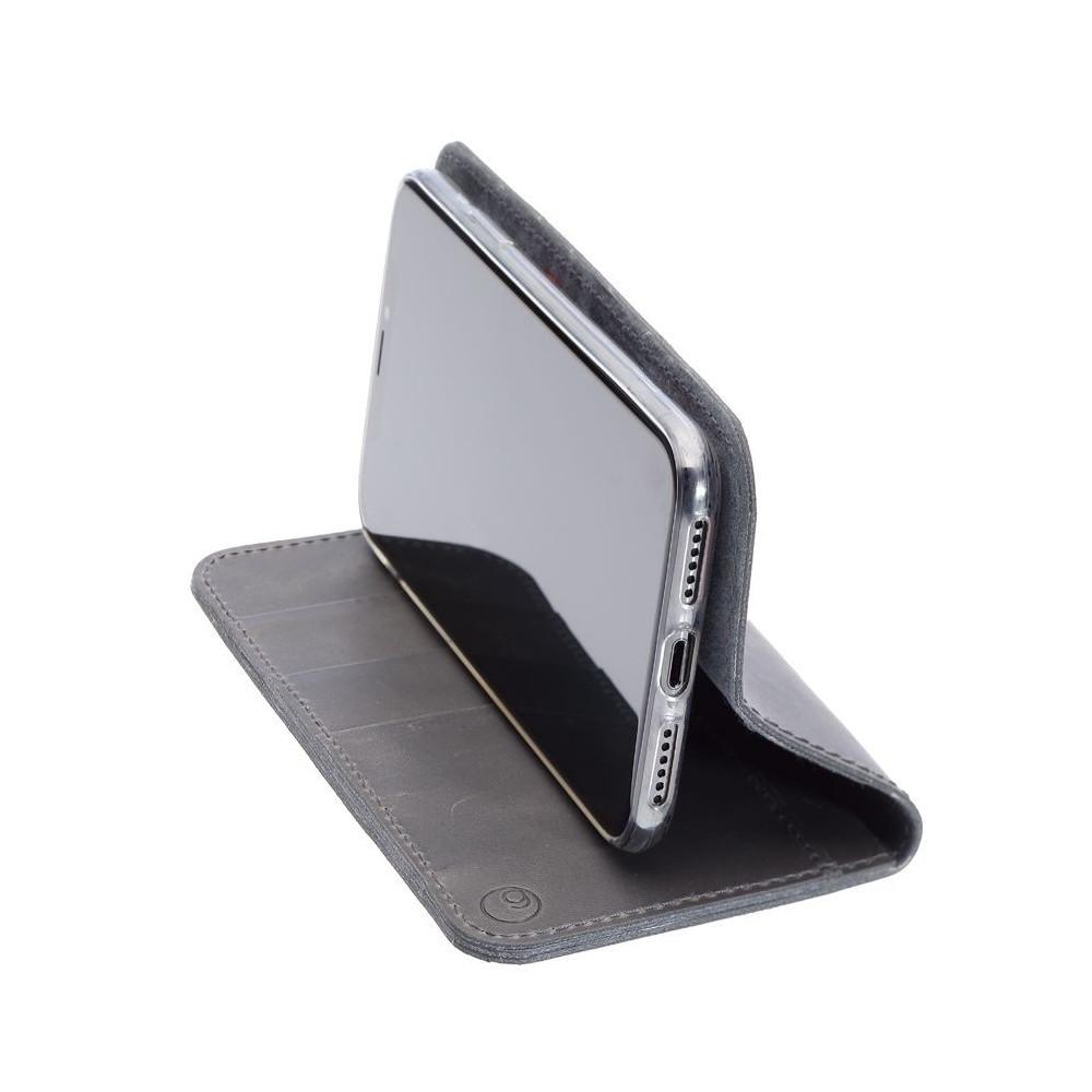 g.case iPhone XI Max LEDERCASE– Folio und Portemonnaie in dunkelbraun, camel, schwarz und grau