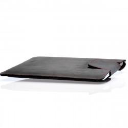 MacBook Sleeve Leder schwarz