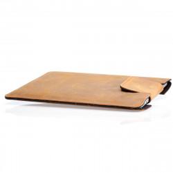 """MacBook Pro Retina 13"""" Tasche Leder vintage/ Camel"""