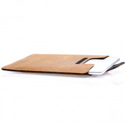 16-inch MacBook Pro leather...