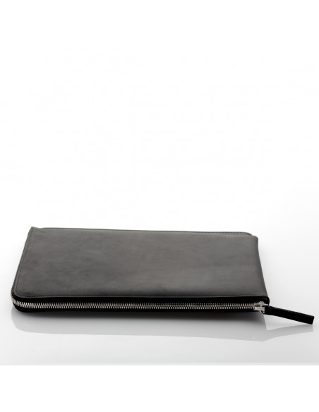 ZIP Lederhülle mit Reißverschluß iPad Pro 12,9