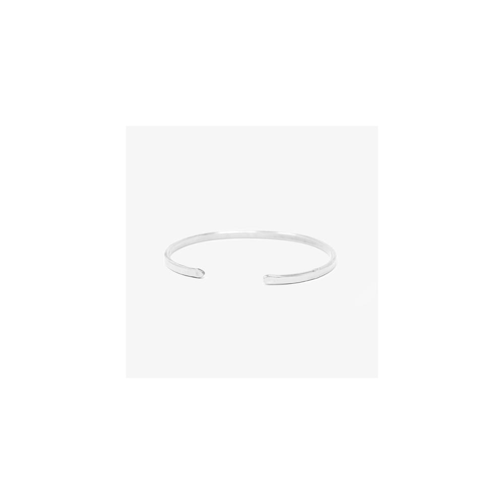 Armreif Stahl Steel Lois Mathar No. 01 / schmal / Small