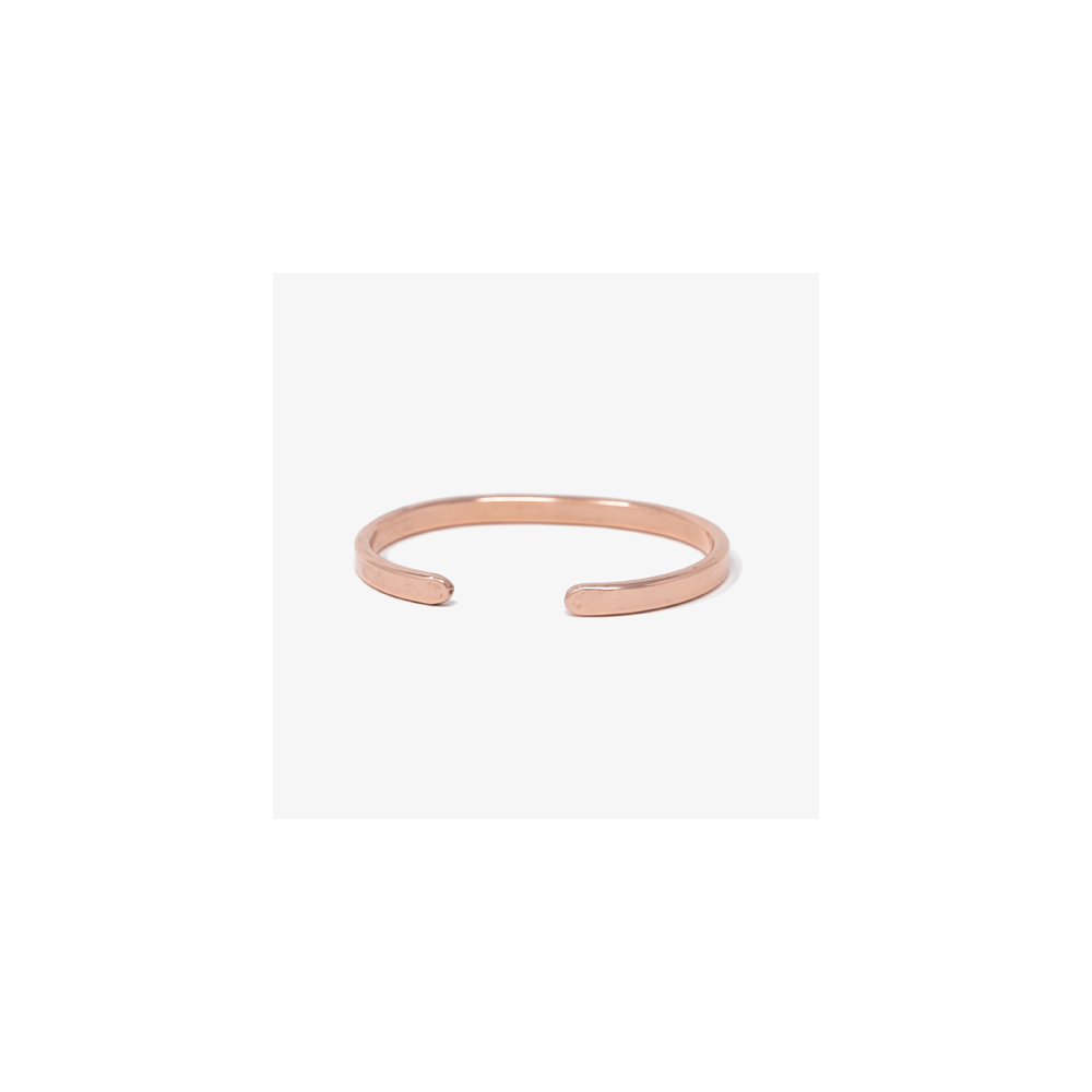 Armreif Kupfer Copper Lois Mathar No. 02 / mittel / Medium