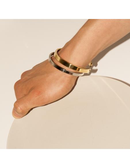 Lois Mathar Armreif Messing / Brass
