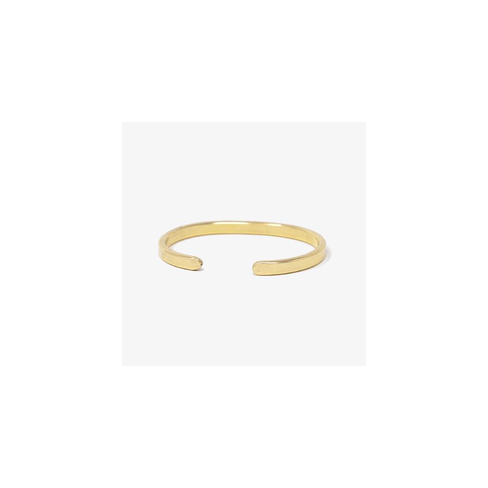 Armreif Messing Brass Lois Mathar No. 02 / mittel / middle