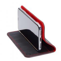g.case iPhone SE – Case und Portemonnaie in dunkelbraun, camel, schwarz und grau