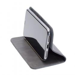 iPhone 12 Pro Leder Folio Case – Cover – Case und Portemonnaie in dunkelbraun, camel, schwarz und grau