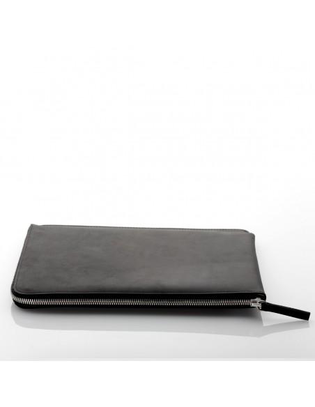 """ZIP 10.9"""" iPad Air Ledertasche in camel, schwarz und dunkelbraun"""