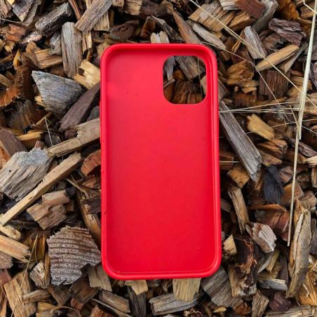 iPhone 12 BioCase in Farbe rot kompostierbar nachhaltig