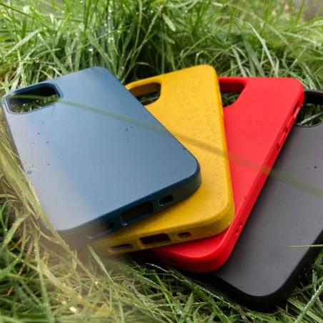 iPhone 12 BioCase in Farbe night schwarz, rot, gelb und blau