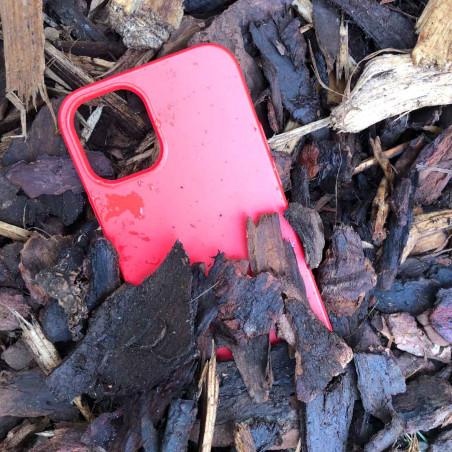 iPhone 12 Bio Case in Farbe night schwarz, rot, gelb und blau kompostierbar