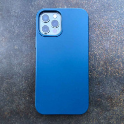 iPhone 12 Bio Case in ocean / blau - biodegradable and sustainable iPhone Case