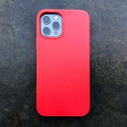 iPhone 12 Bio Case in Farbe night schwarz, rot, gelb und blau