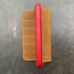 iPhone 12 Folio Case Leder
