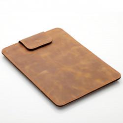 Samsung Galaxy Tab S7 Lederhülle, Tasche Leder, Sleeve mit Lasche vintage
