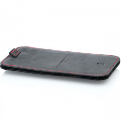 Samsung Galaxy S21 & S20 Leather Sleeve in camel, dark brown, grey and black