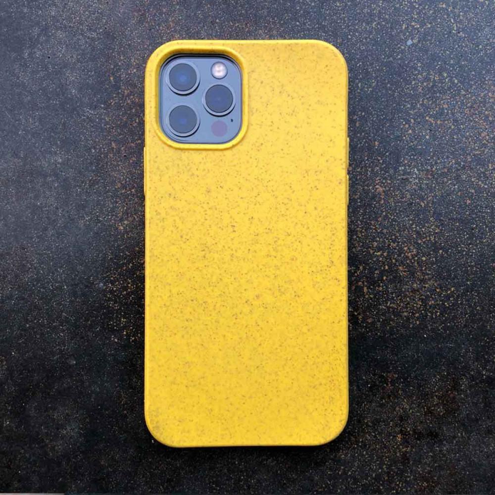 iPhone 13 Eco Case -Gelb - Plastikfrei. Vegan. Kompostierbar, Das grüne iPhone Case.