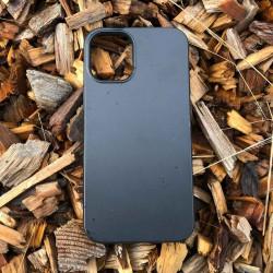 iPhone 13 Bio Case -schwarz - die grüne Alternative zum Silikon Case. Plastikfrei. Vegan. Kompostierbar.