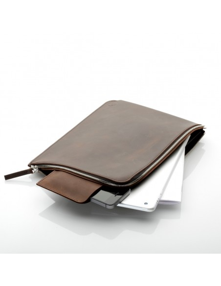 ZIP Sleeve iPad Air Leder Earth