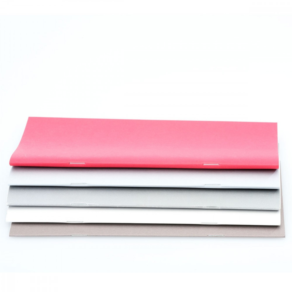 Blank notebook - set of 3