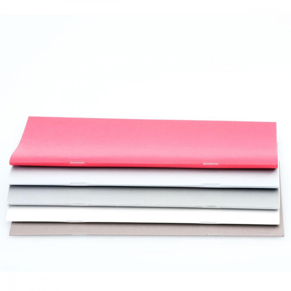 g.book Notizheft blanko - 3er Set